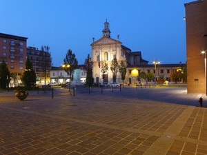 Arrivando in Piazza del Popolo