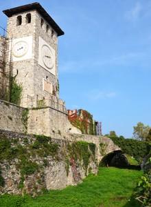 Ponte accesso al castello dei Colloredo