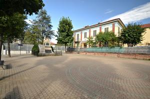 La piazza dedicata ai caduti