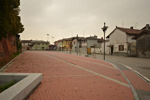 Piazza di un piccolo paese