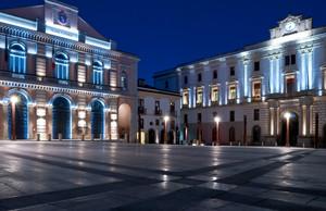 La nuova piazza Mario Pagano