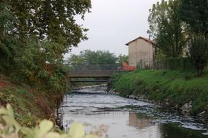 Ponticello sul fiume Olona