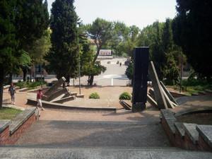 La Piazza vista dalla Chiesa di Santa Maria Assunta