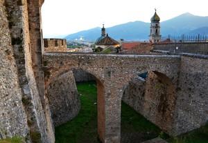 """"""" Ponte d'Ingresso Sud – Ovest  al Castello Pandone"""" – Venafro (Isernia)"""