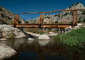 Ponticello sul torrente Gravina
