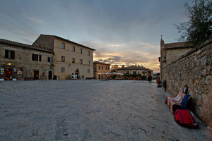 Controluce in Piazza Roma