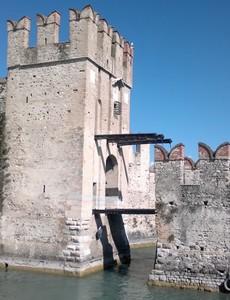 Ponte levatoio del castello scaligero