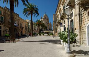 La più bella piazza di Ragusa