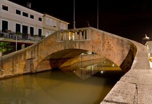La notte sul Ponte dei Scaini