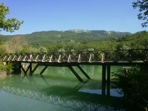 Ponticello sul lago Andreuccio