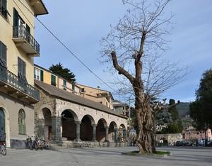 La piazza e la loggia comunale
