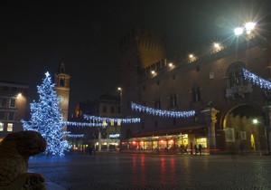 Piazza Trento Trieste by night
