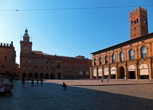 Piazza Maggiore agostana