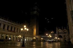 dark night in San marco