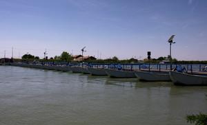 ponte di barche sul Po