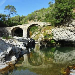 Ponte di Fanghetto, sul Roya