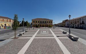 La piazza di Ceneselli