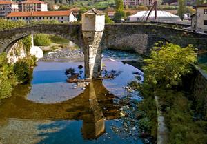 Un pò di sole sull'antico ponte