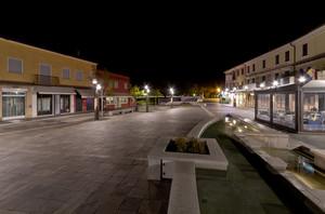 Piazza I Maggio di notte