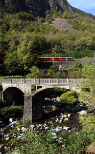 Ponte sul Poschiavino a Piattamala