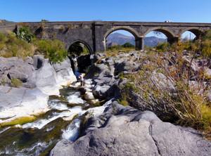 Sul fiume Alcantara