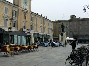 In bici in piazza