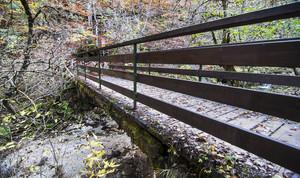accesso al sentiero