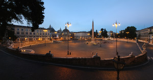 Tutta piazza del Popolo