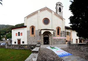 Piazza della Chiesa di San Vincenzo a Gera Lario