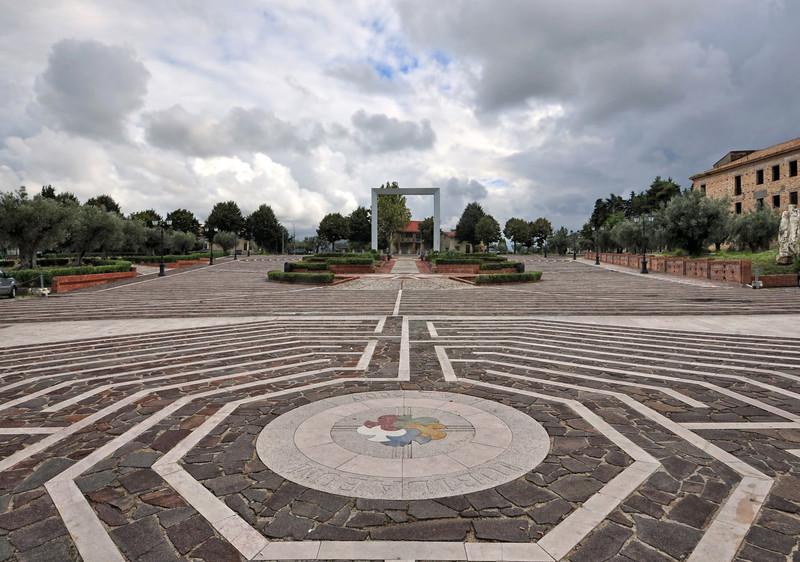''da Piazza Giov Paolo I verso il Largo del Santuario'' - Casalbordino