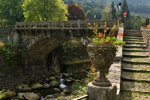 Il ponte sulla strada per Piedicavallo