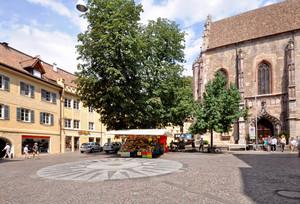 piazza Duomo con Mino, Anna e Riccardino