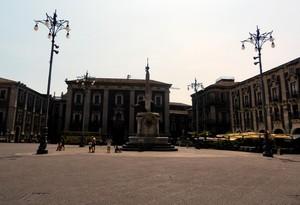 La piazza con l'elefante