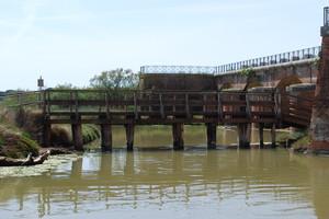 Ponte in legno,della Casa Ximenes