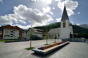 La nuova piazza della Chiesa