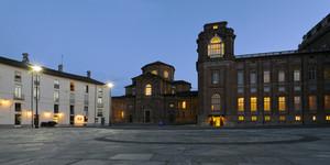 Sant'Uberto e la torre del Belvedere