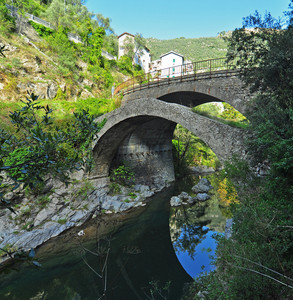 Ponte antico sul Roya