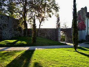Castel d'Aviano – il Piazzale del Castello