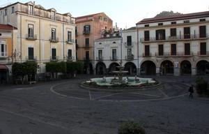 Piazza Duomo da ovest