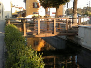 Ponte sulla fossa Brà 2