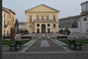 Piazza del Teatro vista da Palazzo Cambieri