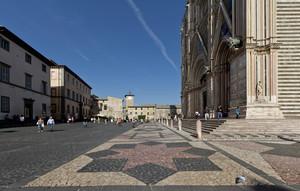 Piazza Duomo di Orvieto