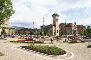 Affollamento in piazza