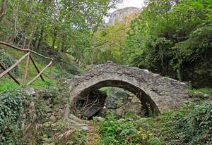 Ponte sul rio Garso