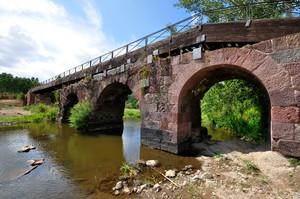 Il Ponte Romano di Allai – Primo piano