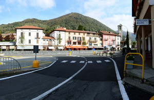 Piazza Carminati a San Fedele Intelvi