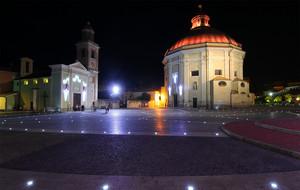Luci in piazza Italia