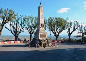 Il panoramico Piazzale Garibaldi