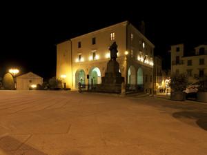 La notte su Sarteano