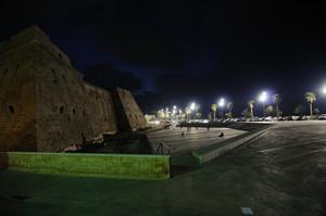 Largo Castello di notte